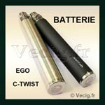 Batterie Ego C Twist 1000 mAh