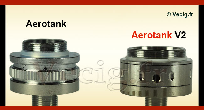 Bague Airflow Aerotank V2 vs Aerotank